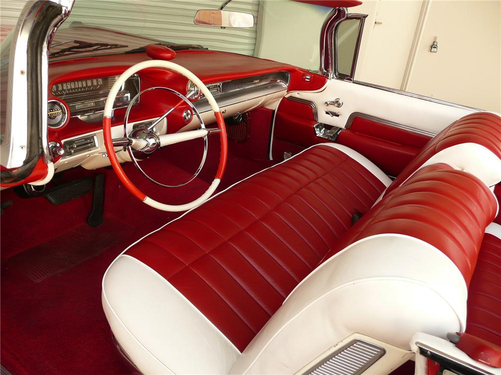 1959 CADILLAC SERIES 62 CONVERTIBLE - Interior - 79053