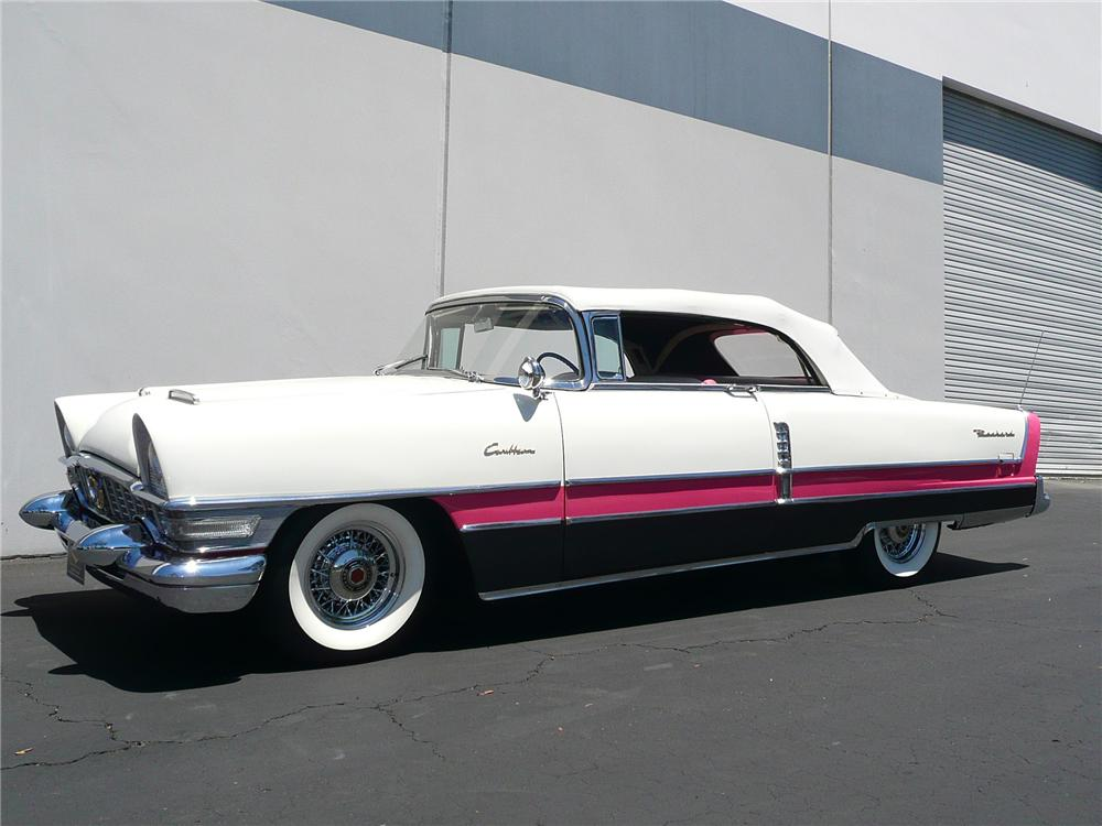 1955 PACKARD CARIBBEAN CONVERTIBLE - Side Profile - 79055