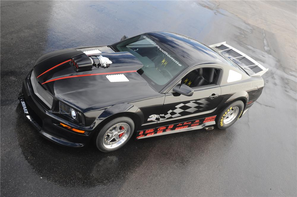 2007 FORD SHELBY GT500 SUPER SNAKE PRUDHOMME EDITION - Front 3/4 - 79057