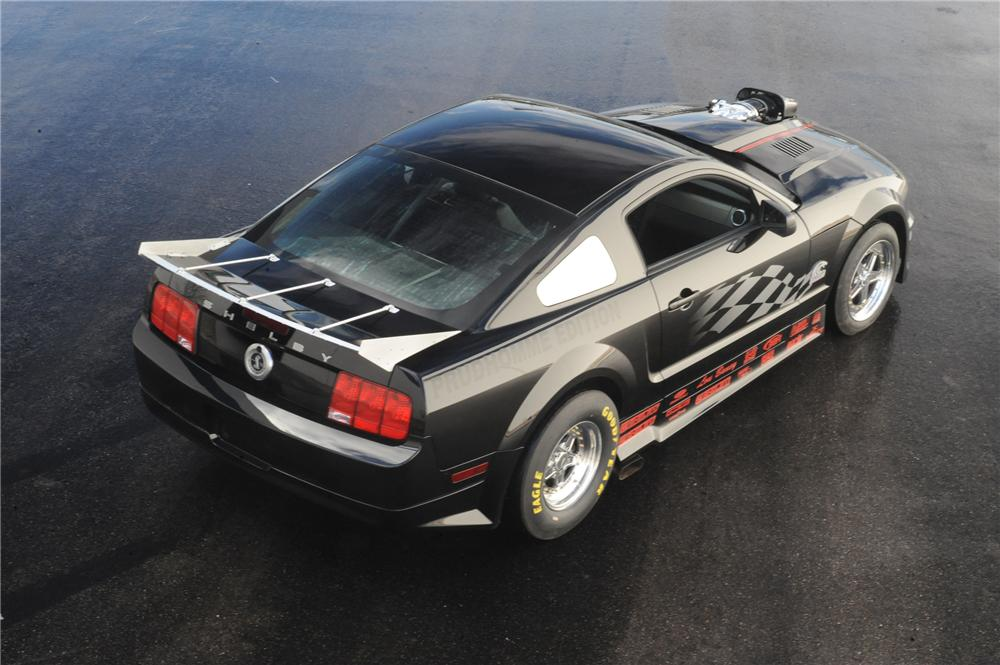 2007 FORD SHELBY GT500 SUPER SNAKE PRUDHOMME EDITION - Rear 3/4 - 79057