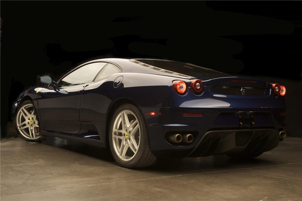2006 FERRARI F430 COUPE - Rear 3/4 - 79063
