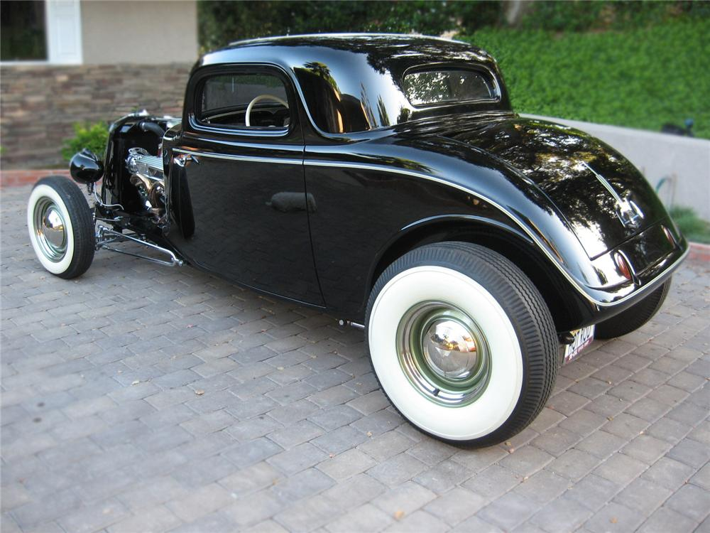 1934 FORD 3 WINDOW CUSTOM COUPE - 79066