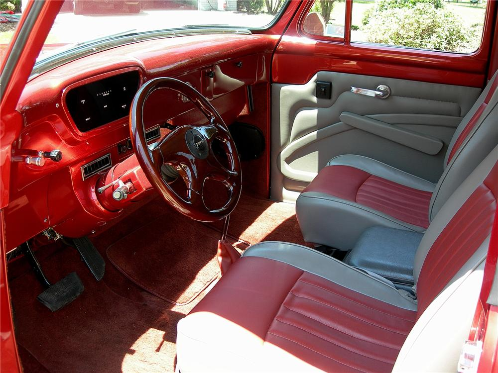 1953 FORD PICKUP STREET ROD - Interior - 79069