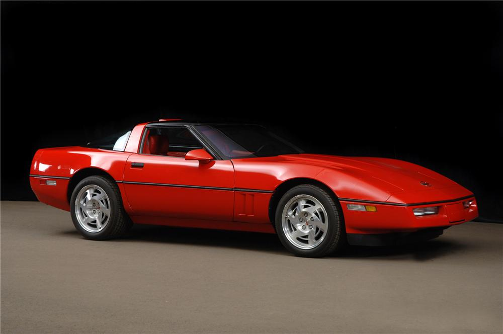 1990 CHEVROLET CORVETTE ZR-1 COUPE - Front 3/4 - 79075