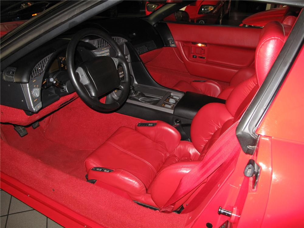 1990 CHEVROLET CORVETTE ZR-1 COUPE - Interior - 79075