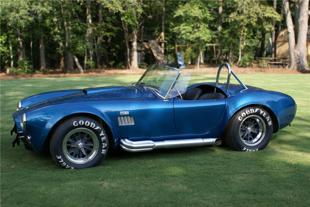 1965 SHELBY COBRA CSX 6000 ROADSTER - Side Profile - 79077