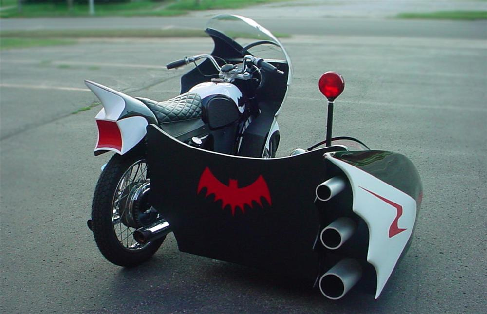 1966 YAMAHA CUSTOM BATCYCLE - Rear 3/4 - 79078