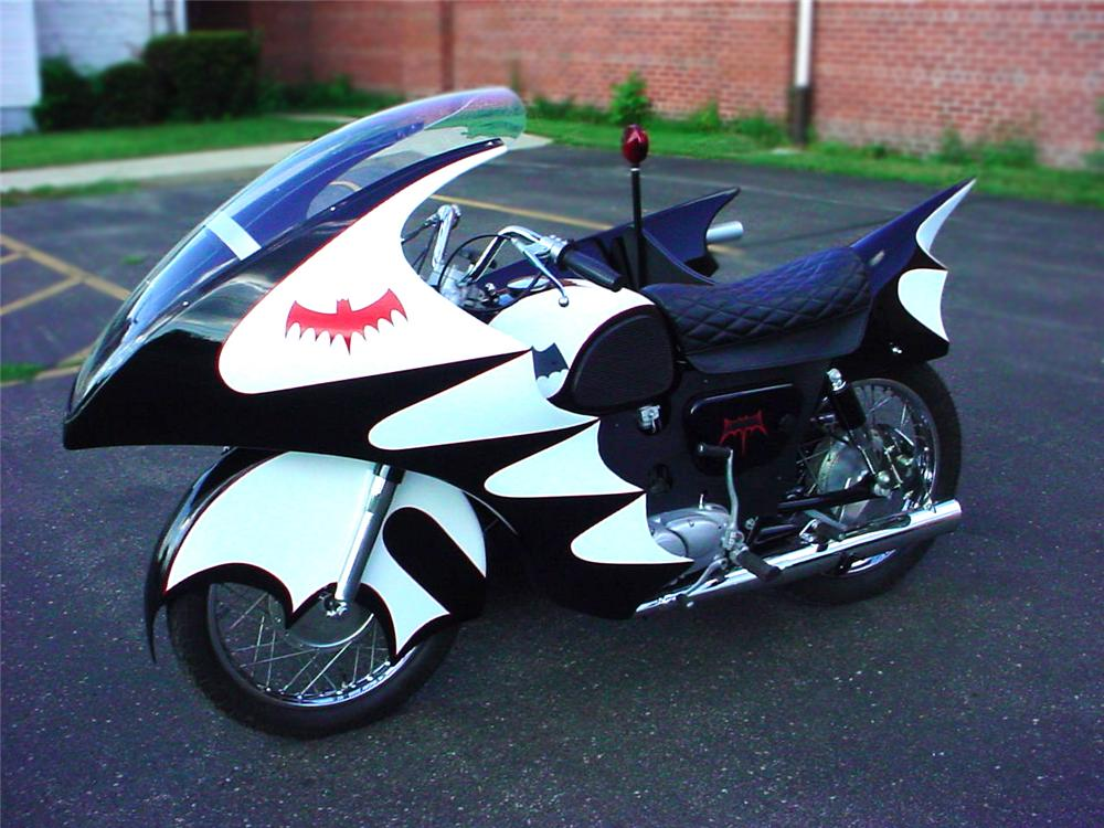 1966 YAMAHA CUSTOM BATCYCLE - Side Profile - 79078