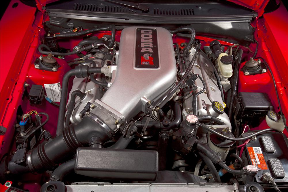"2000 FORD MUSTANG COBRA ""R"" COUPE - Engine - 79084"
