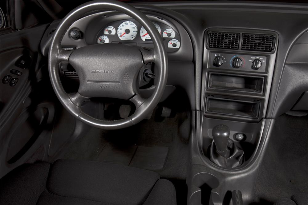 "2000 FORD MUSTANG COBRA ""R"" COUPE - Interior - 79084"