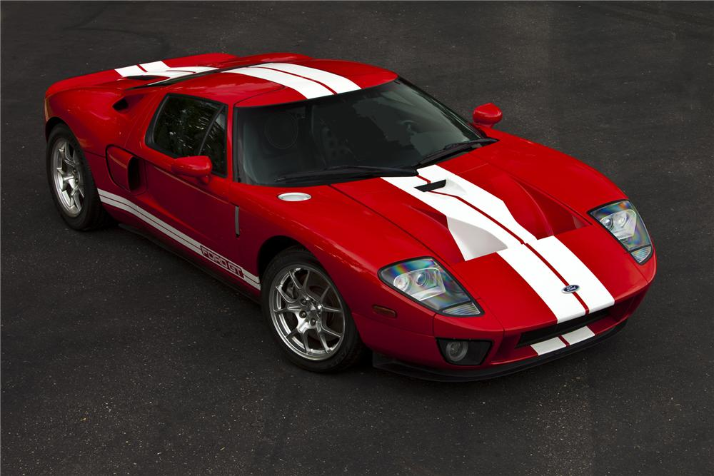 2005 FORD GT COUPE - Front 3/4 - 79085