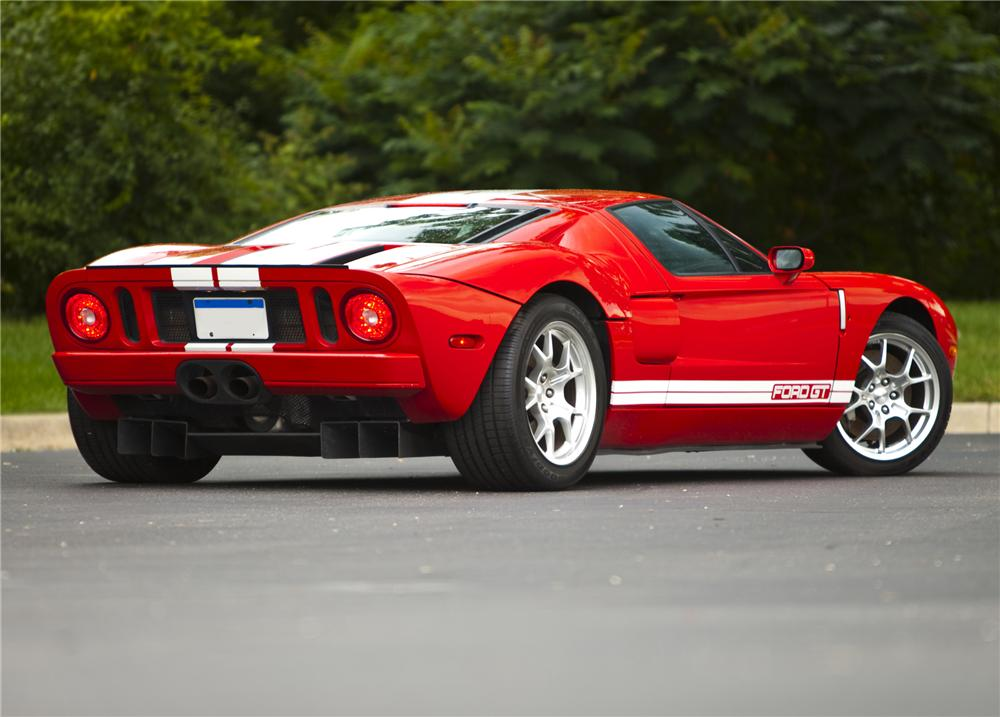 2005 FORD GT COUPE - Rear 3/4 - 79085