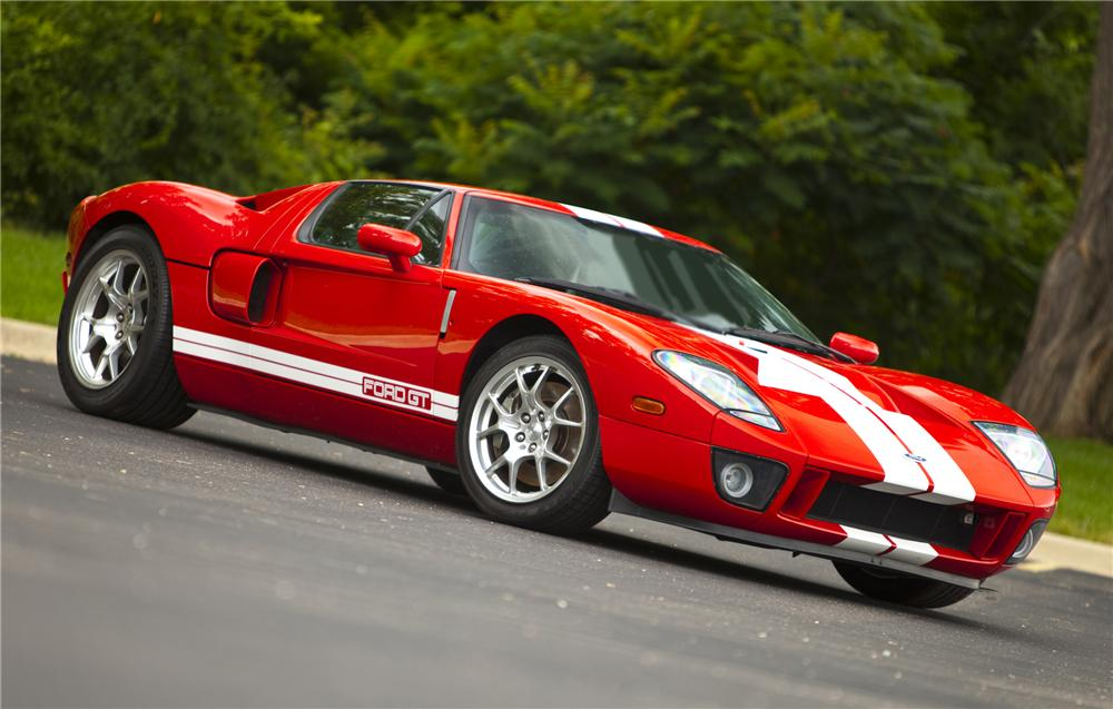 2005 FORD GT COUPE - Side Profile - 79085