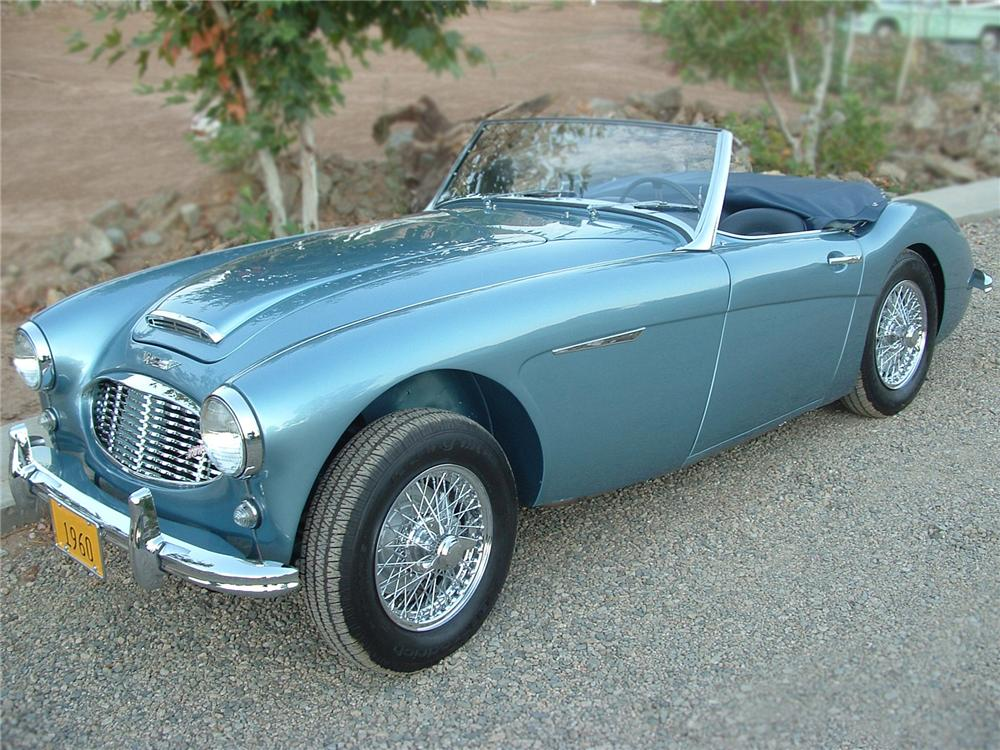1960 austin healey 3000 mark i roadster 79087. Black Bedroom Furniture Sets. Home Design Ideas