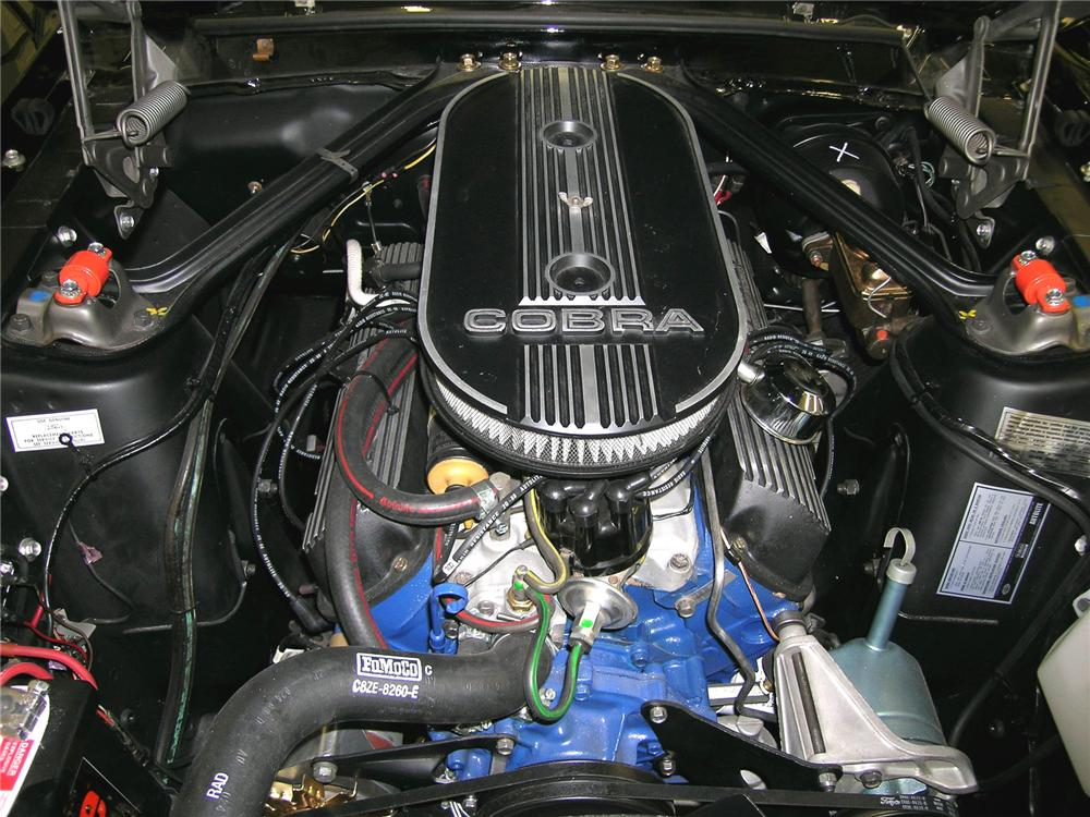 1968 SHELBY GT350 CONVERTIBLE - Engine - 79090