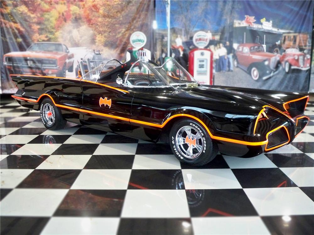 "1974 LINCOLN 2 DOOR ""BATMOBILE RE-CREATION"" - Front 3/4 - 79094"