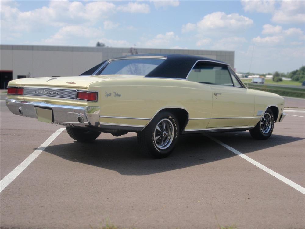 1966 pontiac beaumont 2 door hardtop