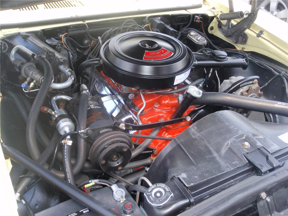 1968 CHEVROLET CAMARO CONVERTIBLE - Engine - 79096