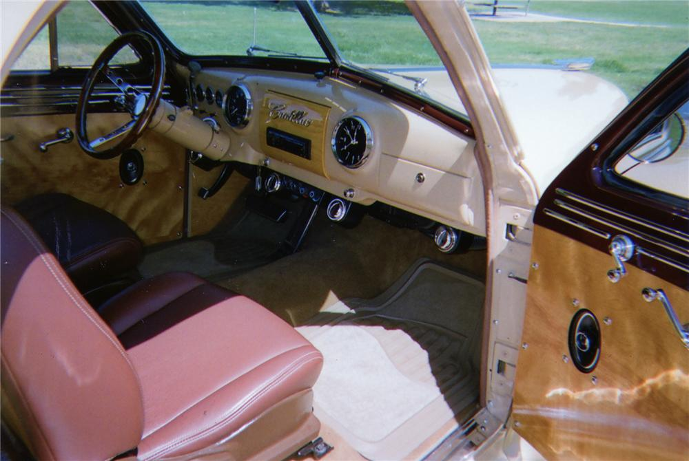 1947 CADILLAC CUSTOM WOODY STATION WAGON - Interior - 79103