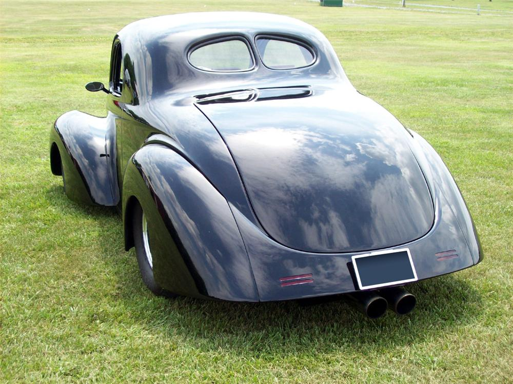 1941 WILLYS COUPE - Rear 3/4 - 79108