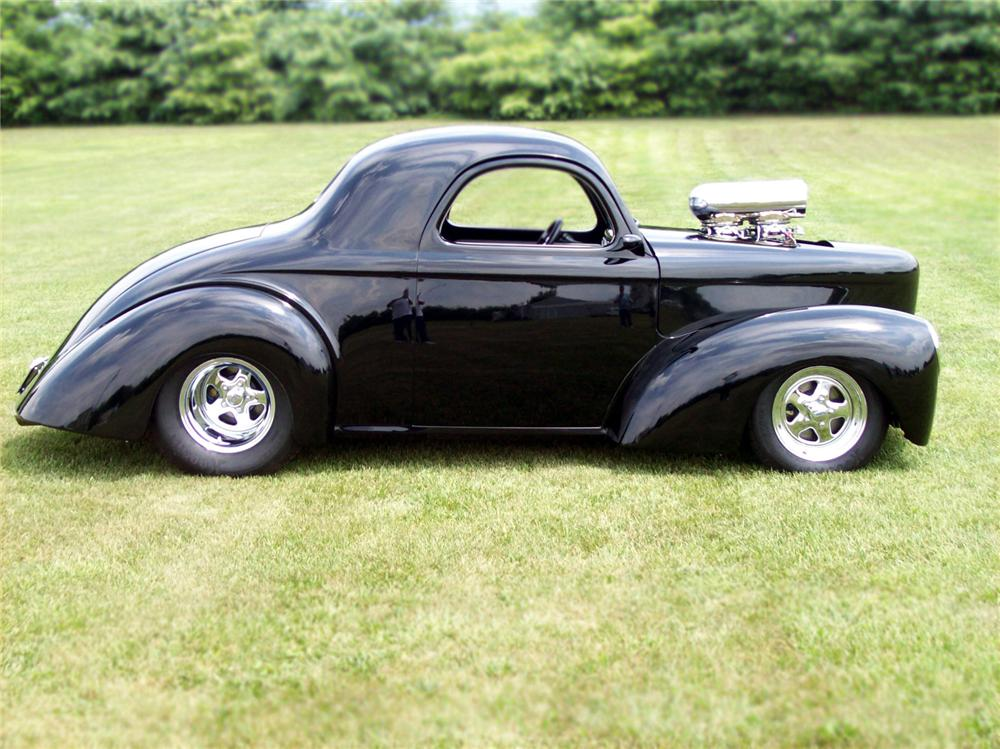 1941 WILLYS COUPE - Side Profile - 79108