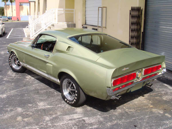 1967 SHELBY GT350 FASTBACK - Rear 3/4 - 79124