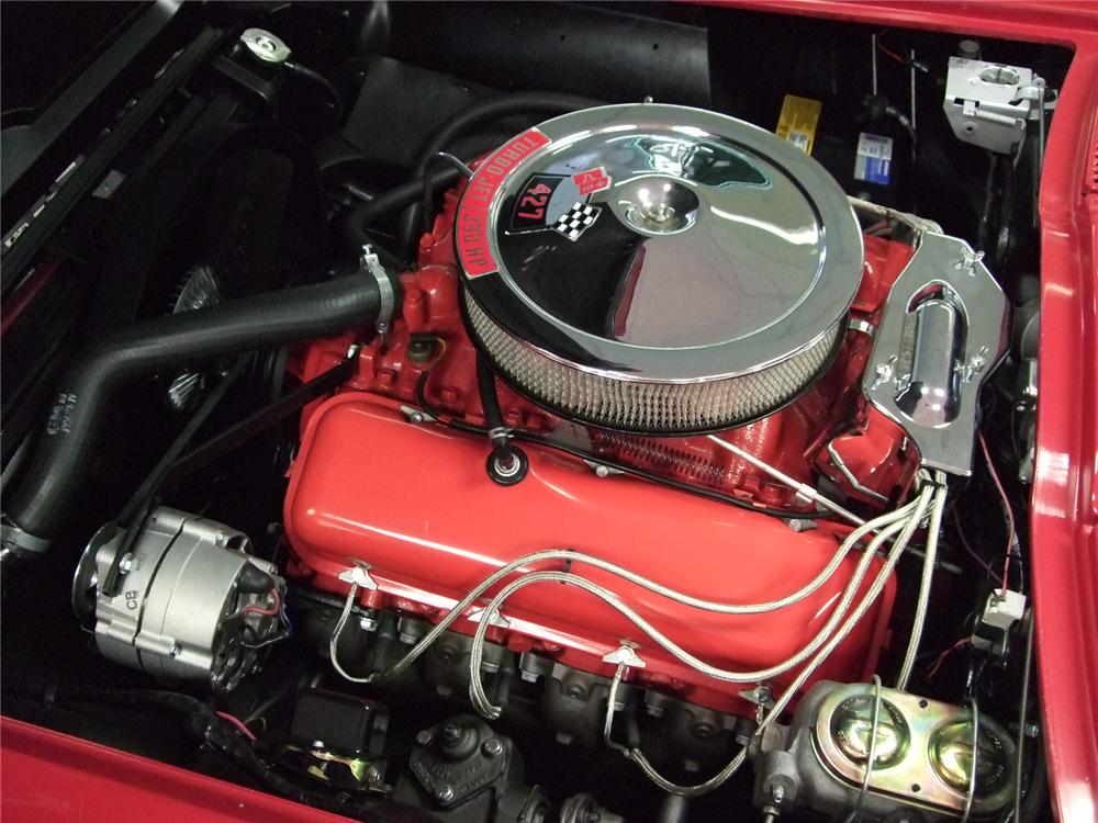 1967 CHEVROLET CORVETTE COUPE - Engine - 79129
