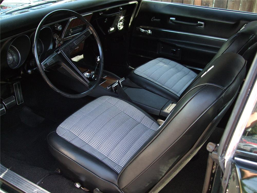 1968 CHEVROLET CAMARO SS COUPE - Interior - 79131