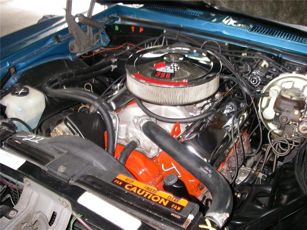1969 CHEVROLET CAMARO RS/SS CONVERTIBLE - Engine - 79138