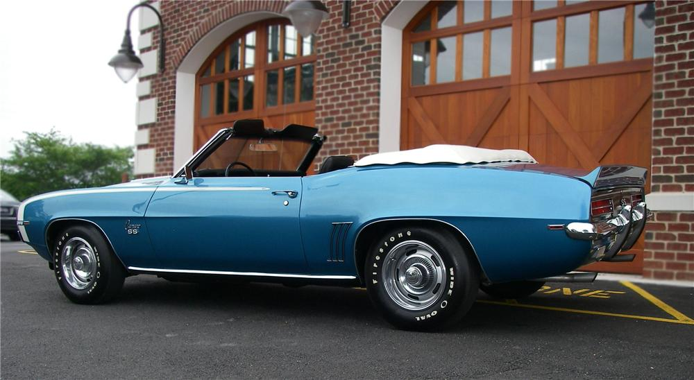 1969 CHEVROLET CAMARO RS/SS CONVERTIBLE - Misc 1 - 79138