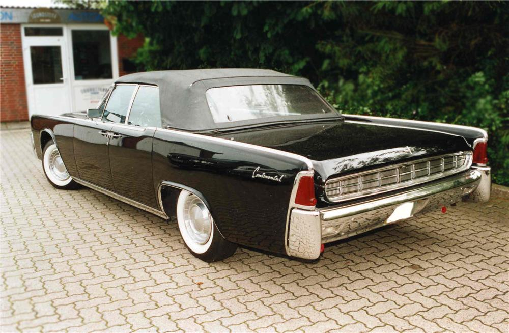 1963 LINCOLN CONTINENTAL CONVERTIBLE - 79140