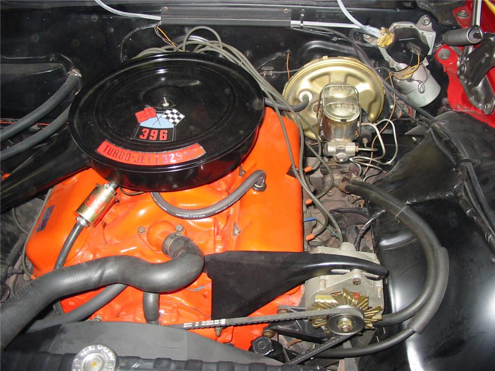 1968 CHEVROLET IMPALA CONVERTIBLE - Engine - 79145
