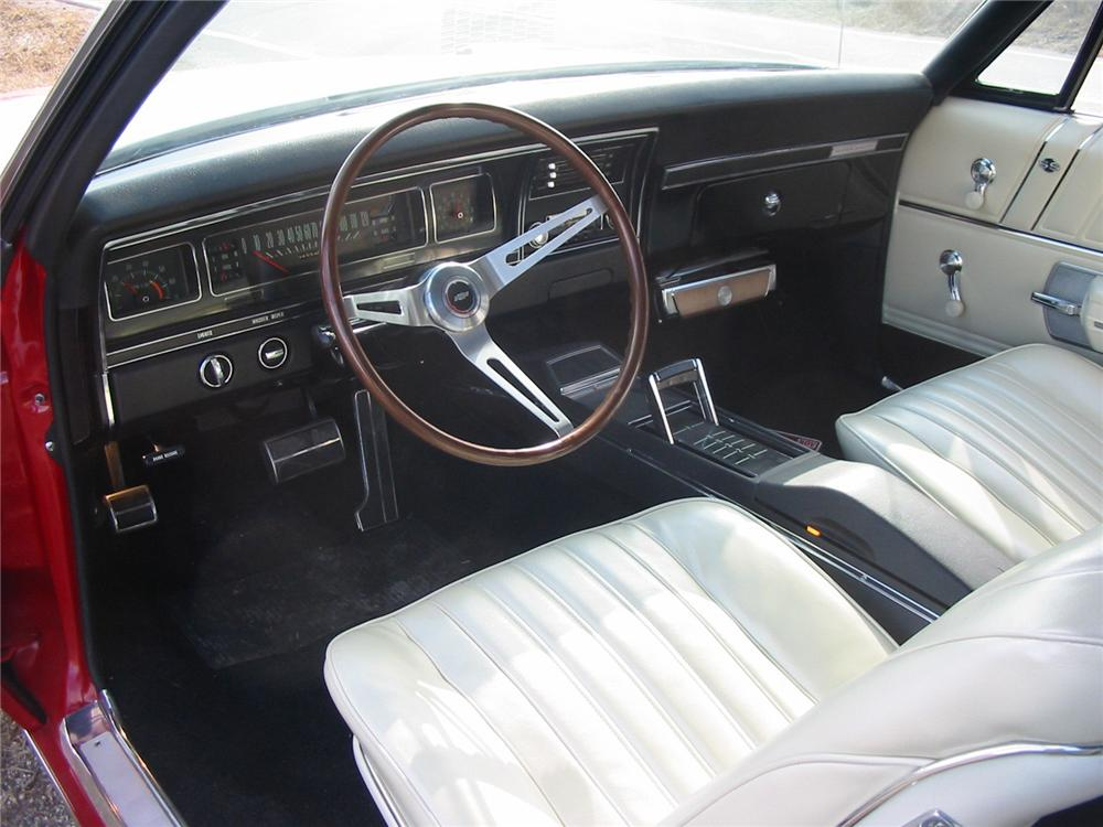 1968 CHEVROLET IMPALA CONVERTIBLE - Interior - 79145