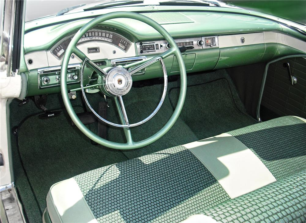 1957 FORD FAIRLANE 500 SKYLINER RETRACTABLE - Interior - 79146