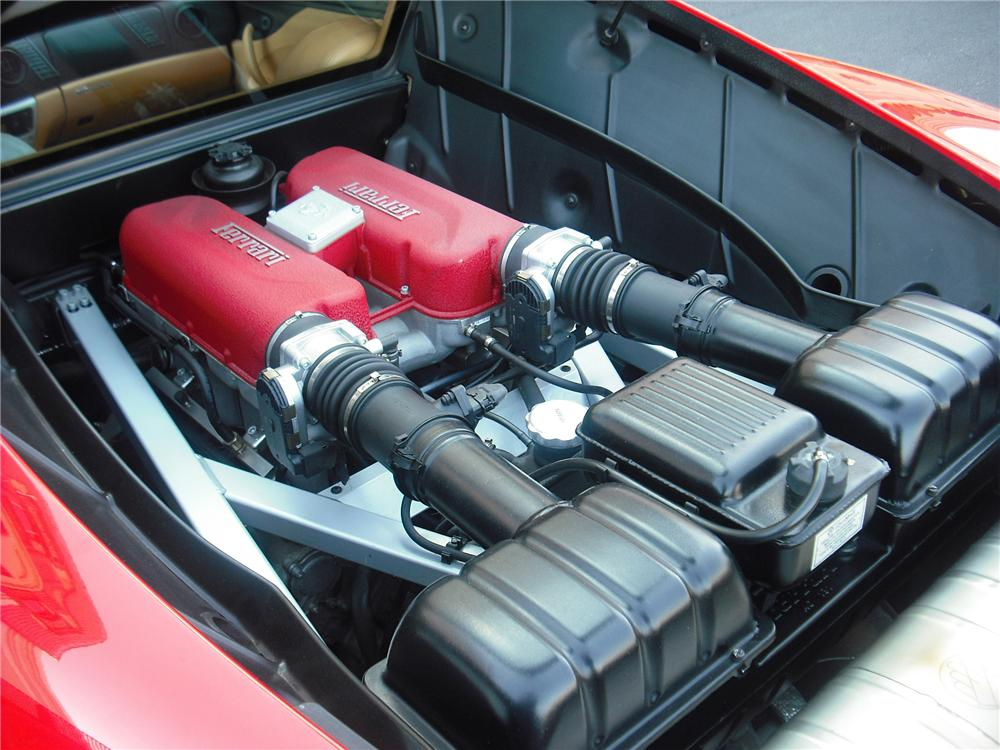 2000 FERRARI 360 MODENA F1 COUPE - Engine - 79151