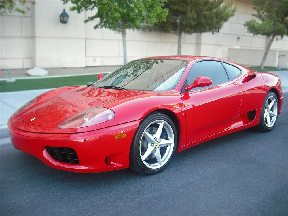 2000 ferrari 360 modena f1 coupe 79151. Black Bedroom Furniture Sets. Home Design Ideas