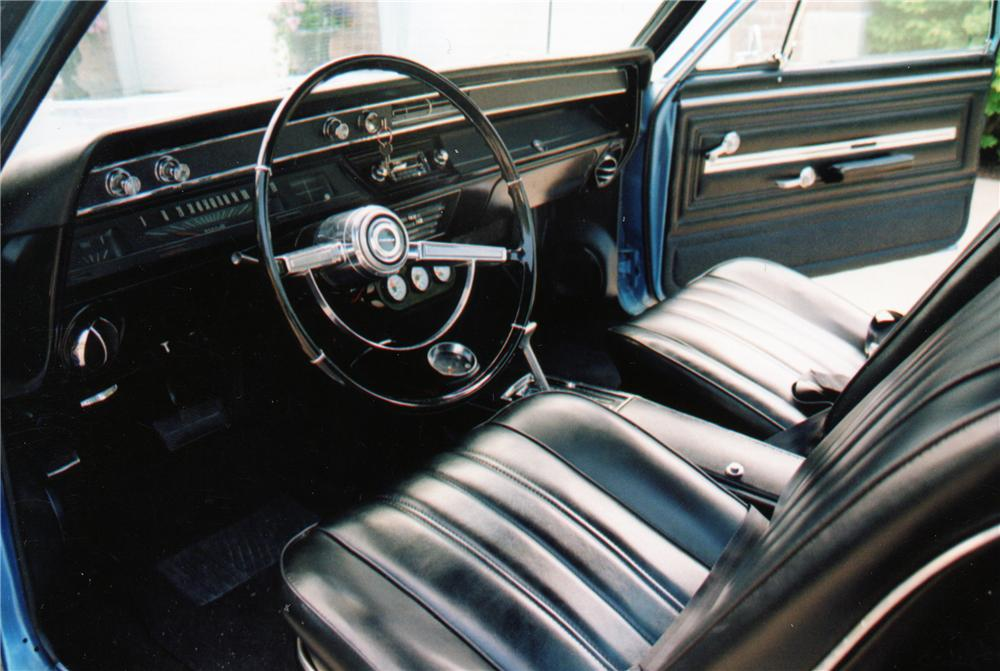 1966 CHEVROLET EL CAMINO PICKUP - Interior - 79171
