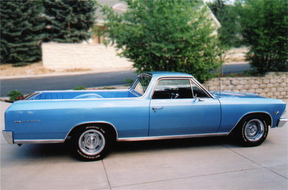 1966 CHEVROLET EL CAMINO PICKUP - Side Profile - 79171