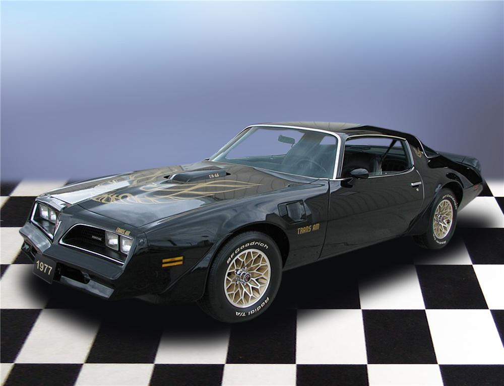 1977 PONTIAC FIREBIRD TRANS AM COUPE - Front 3/4 - 79185
