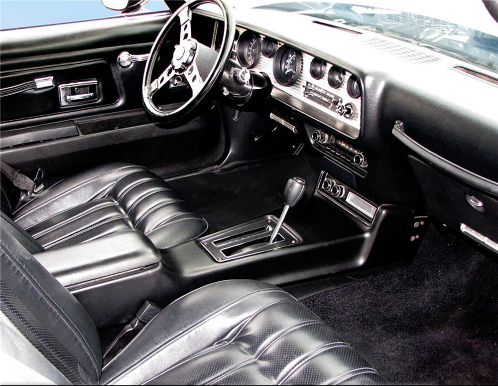 1977 PONTIAC FIREBIRD TRANS AM COUPE - Interior - 79185