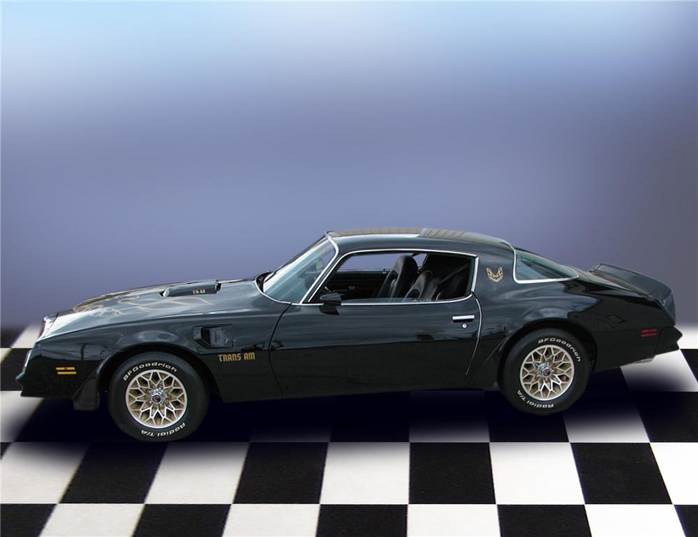 1977 PONTIAC FIREBIRD TRANS AM COUPE - Side Profile - 79185