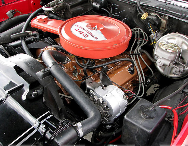 1969 OLDSMOBILE 442 COUPE - Engine - 79187