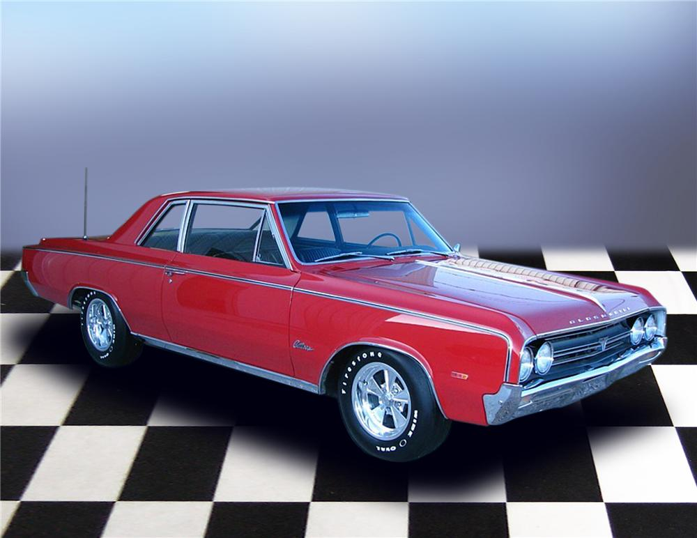 1964 OLDSMOBILE 442 COUPE - Front 3/4 - 79188