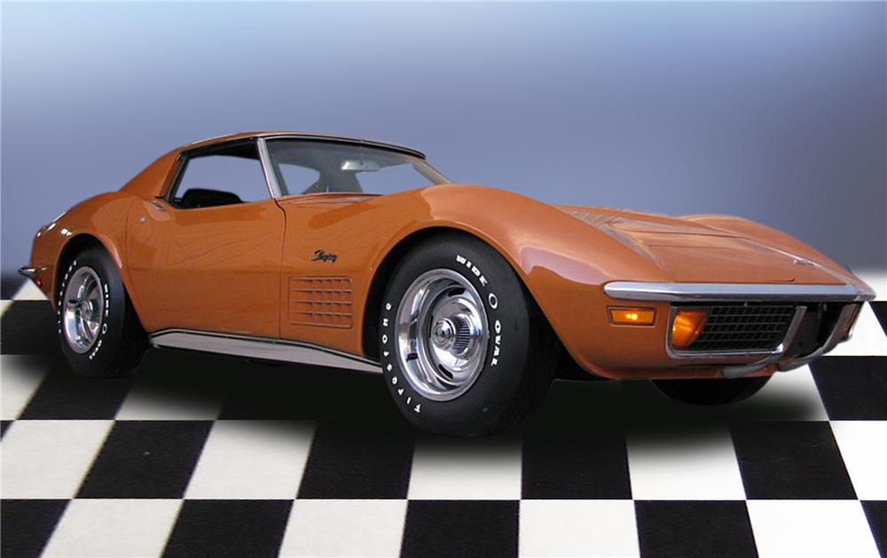 1972 CHEVROLET CORVETTE COUPE - Front 3/4 - 79189