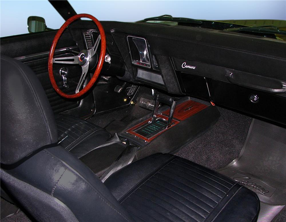 1969 CHEVROLET CAMARO COUPE COPO RE-CREATION - Interior - 79197