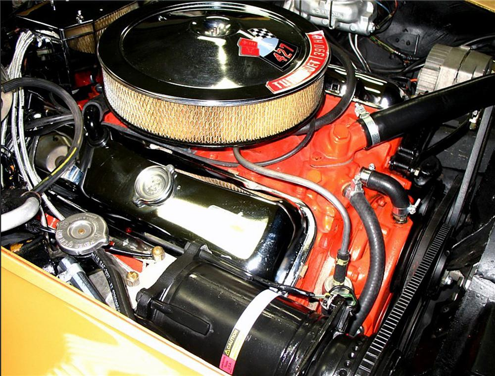 1969 CHEVROLET CORVETTE COUPE - Engine - 79198