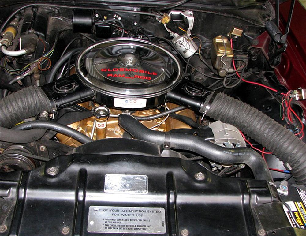 1969 OLDSMOBILE CUTLASS W31 HOLIDAY COUPE - Engine - 79202