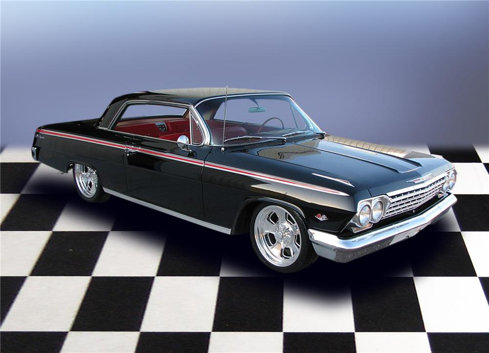 1962 CHEVROLET IMPALA SPORT COUPE - Front 3/4 - 79203