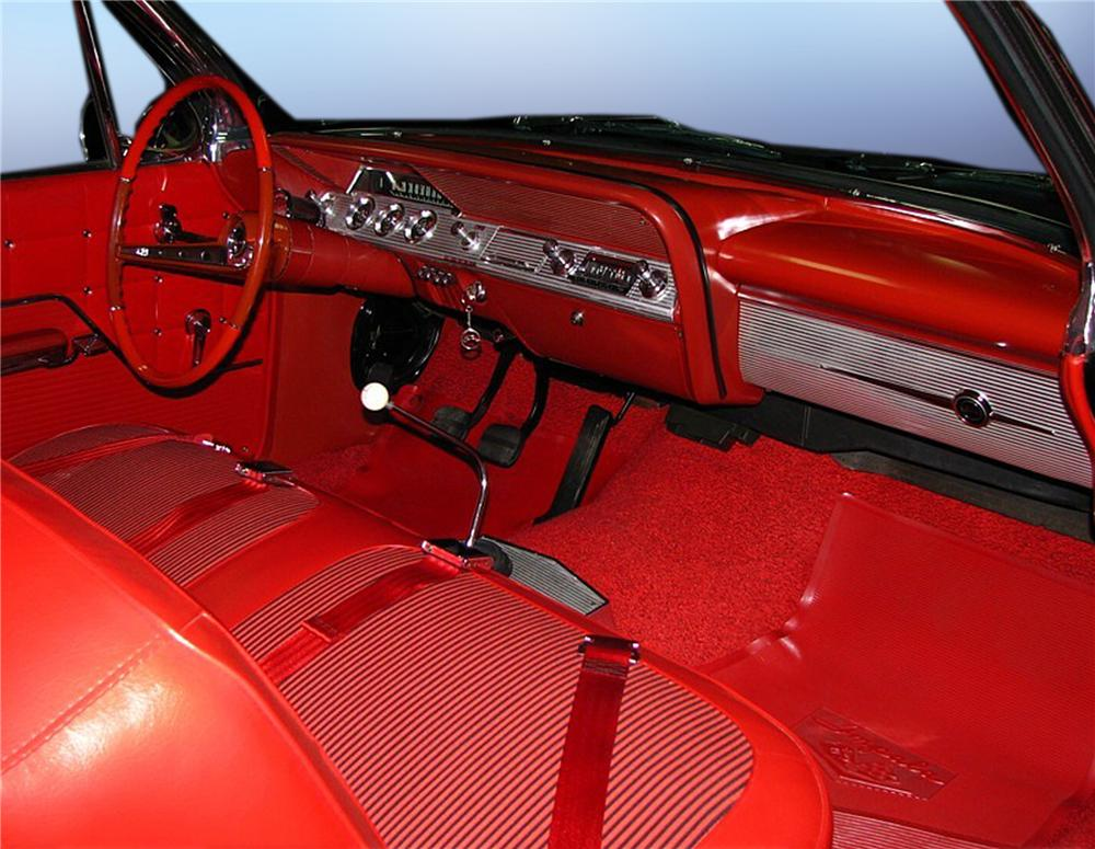 1962 CHEVROLET IMPALA SPORT COUPE - Interior - 79203