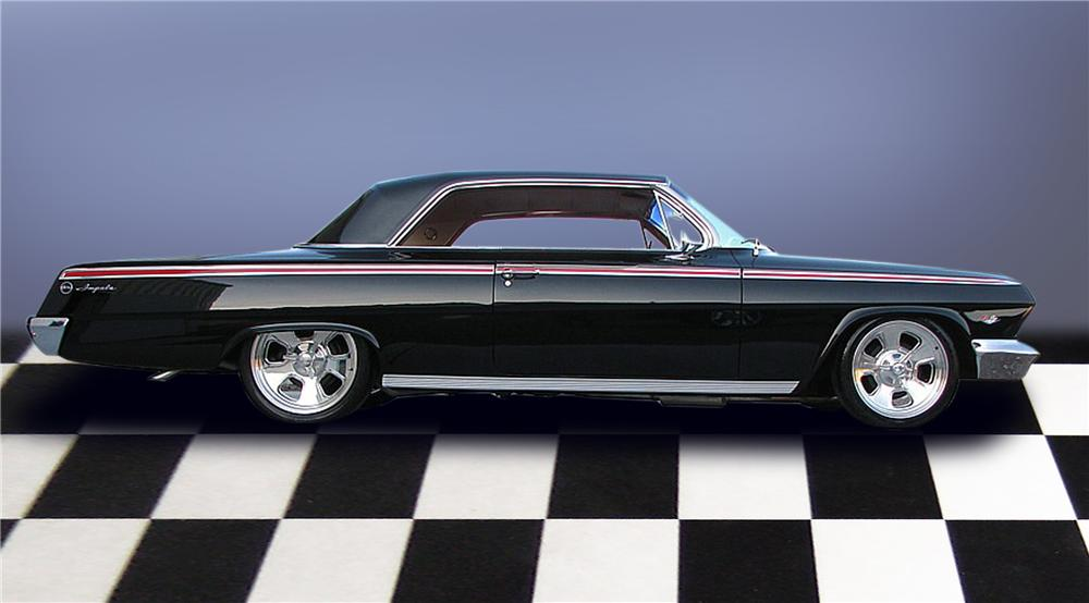 1962 CHEVROLET IMPALA SPORT COUPE - Side Profile - 79203